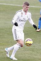 Real Madrid's Toni Kroos during La Liga match.January 18,2013. (ALTERPHOTOS/Acero) /NortePhoto<br /> NortePhoto.com