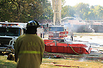 Jefferson & Mifflin Township Fire Department Training Fire, 10 08 2007