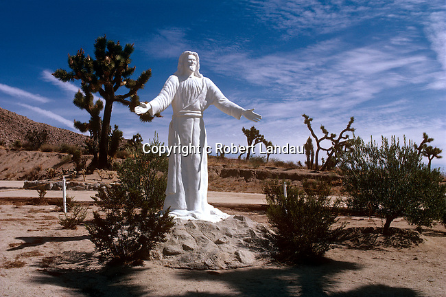 High Desert Christ Monument, Yucca Valley, 1983