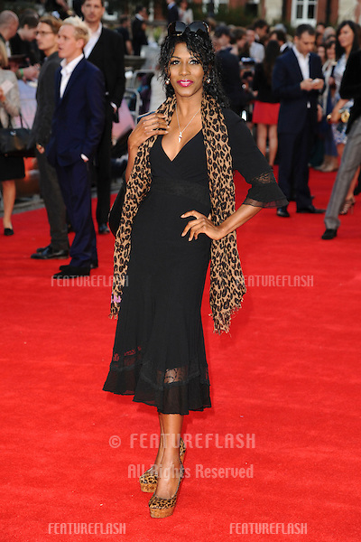 "Sinitta arriving for the ""Titanic 3D"" premiere at the Royal Albert Hall, Kensington, London. 27/03/2012 Picture by: Steve Vas / Featureflash"