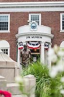 Exterior of the JFK Museum, Hyannis, Cape Cod, Massachusettes,, USA