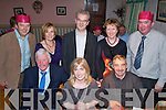 Night Out - Having a great time at the Kilmoyley Golf Society's Annual Xmas Dinner held in Harty's Bar & Restaurant on Saturday night were seated l/r Maurice Quane, Martina Horan and Hubert Fitzell, standing l/r Sean, Fiona & Chris Horan, Eileen Fitzell and J.J. McElligot........................................................................ ............   Copyright Kerry's Eye 2008