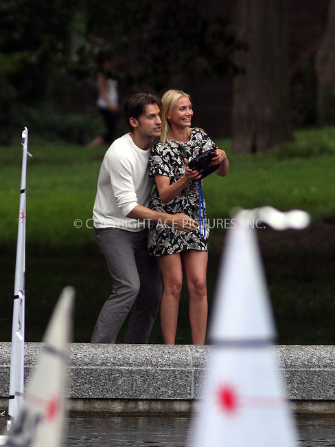 WWW.ACEPIXS.COM<br /> <br /> June 27 2013, New York City<br /> <br /> Nikolaj Coster Waldau and Cameron Diaz were on the Central Park set of the new movie 'The Other Woman' on June 27 2013 in New York City<br /> <br /> By Line: Zelig Shaul/ACE Pictures<br /> <br /> <br /> ACE Pictures, Inc.<br /> tel: 646 769 0430<br /> Email: info@acepixs.com<br /> www.acepixs.com