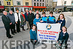 Member of St John's Parish Pastoral Council  Launch the Mercy in the Square and  Mercy in Manor - a new initiative whereby priests will make themselves more available to the public First meetings on Saturday 19th March in the Square Tralee and Sunday 20th March in Manor. Pictured Front Ellen O'Connell, Ada O'Connor, Sean Nolan, Dylan Burns,  Erica O Sullivan, Roisin Kerins Back l-r St. John's Tralee Parish council Fr Sean Hanafin, Jimmy O'Donnell, Crll Norma Foley, Ann O'Shea Daly, Denis Kelliher, Fr. Bernard Healy and Fr. Francis Nolan