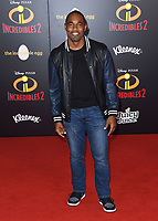 05 June 2018 - Hollywood, California - Jason George. Disney Pixar's &quot;Incredibles 2&quot; Los Angeles Premiere held at El Capitan Theatre. <br /> CAP/ADM/BT<br /> &copy;BT/ADM/Capital Pictures