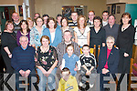 40TH: Dermot Clifford, Two Mile School, Killarney (seated centre) celebrates his 40th birthday with his family and friends in The Old Killarney Inn last Saturday night..