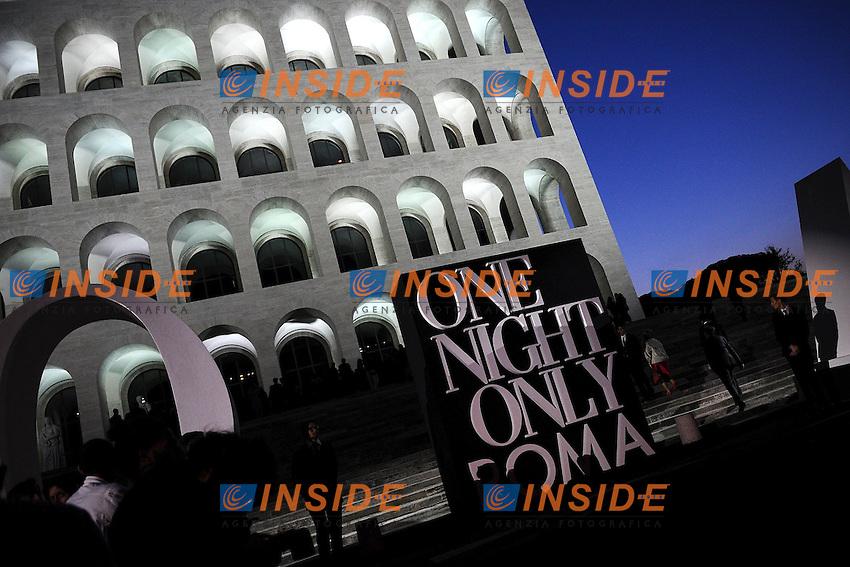 Location <br /> Roma 5/6/2013 Palazzo dela Civilta' Romana<br /> One Night Only Roma, a Giorgio Armani event <br /> Foto Andrea Staccioli Insidefoto