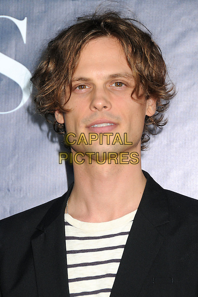 17 July 2014 - West Hollywood, California - Matthew Gray Gubler. CBS, CW, Showtime Summer Press Tour 2014 held at The Pacific Design Center. <br /> CAP/ADM/BP<br /> &copy;Byron Purvis/AdMedia/Capital Pictures