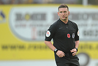 Referee Lee Collins<br /> <br /> Photographer Kevin Barnes/CameraSport<br /> <br /> Emirates FA Cup First Round - Exeter City v Blackpool - Saturday 10th November 2018 - St James Park - Exeter<br />  <br /> World Copyright &copy; 2018 CameraSport. All rights reserved. 43 Linden Ave. Countesthorpe. Leicester. England. LE8 5PG - Tel: +44 (0) 116 277 4147 - admin@camerasport.com - www.camerasport.com