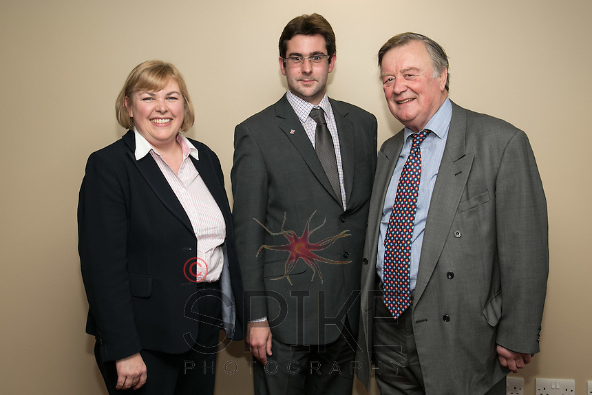 Jane HUnt, Conservative candidate for Nottingham South, Andrew Rule, Nottingham Conservatives Deputy Chairman and Ken Clarke MP for Rushcliffe