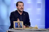 Matteo Salvini a L' Aria che tira