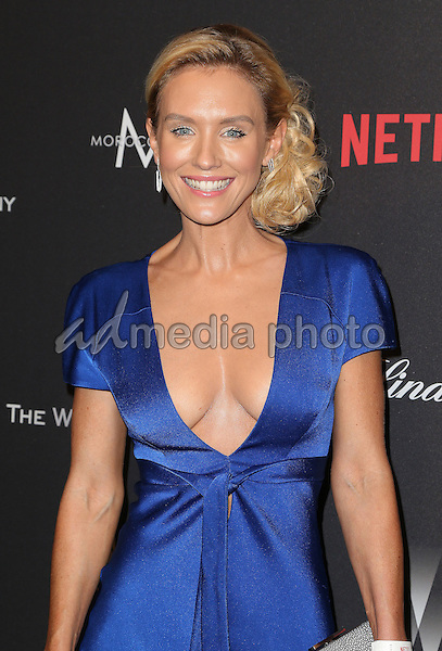 08 January 2016 - Beverly Hills, California - Nicky Whelan. 2017 Weinstein Company And Netflix Golden Globes After Party held at the Beverly Hilton. Photo Credit: F. Sadou/AdMedia