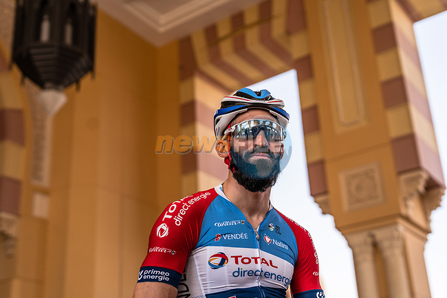 Geoffrey Soupe (FRA) Team Total Direct Energie ready to start Stage 5 of the Saudi Tour 2020 running 144km from Princess Nourah University to Al Masmak, Saudi Arabia. 8th February 2020. <br /> Picture: ASO/Kåre Dehlie Thorstad | Cyclefile<br /> All photos usage must carry mandatory copyright credit (© Cyclefile | ASO/Kåre Dehlie Thorstad)