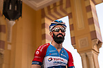 Geoffrey Soupe (FRA) Team Total Direct Energie ready to start Stage 5 of the Saudi Tour 2020 running 144km from Princess Nourah University to Al Masmak, Saudi Arabia. 8th February 2020. <br /> Picture: ASO/Kåre Dehlie Thorstad   Cyclefile<br /> All photos usage must carry mandatory copyright credit (© Cyclefile   ASO/Kåre Dehlie Thorstad)