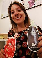 NAPOLI 21/03/2013 MUSEO PLART CERIMONIA DI PREMIAZIONE DELLA .VIII EDIZIONE DEL LUCKY STRIKE TALENTED DESIGNER AWARD ORGANIZZATO DALLA RAYMOND LOEWY  FOUNDATION.NELLA FOTO SERENA BARBINI...