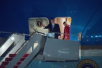 Trump Arrives at Joint Base Andrews
