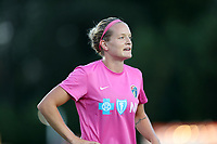 Cary, North Carolina  - Saturday September 09, 2017: Kristen Hamilton prior to a regular season National Women's Soccer League (NWSL) match between the North Carolina Courage and the Houston Dash at Sahlen's Stadium at WakeMed Soccer Park. The Courage won the game 1-0.