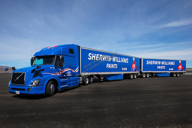 Sherwin-Williams truck 2 2016
