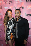 Sports Illustrated Swimsuit Model Chrissy Teigen and Grammy Award Winner Recording Artist John Legend Attend E! Fashion Police and Benefit Cosmetics Hosts NYFW Kick-off Party  Held  at A60 at The Thompson Hotel, NY