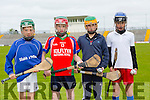 Adam Segall,Sliabh á Mhuire, Denis Nolan, Kilflynn Jimmy Lehan, Kenmare, Thomas Gaynor, Glenderry NS  Pictured at the Coiste Na Nóg Primary Schools hurling Skills finals at Austin Stack Park Tralee on Tuesday