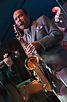 Legendary jazz saxophone player and composer Benny Golson gave a memorable performance at Trumpets Jazz Club in Montclair with Vitali Imereli on violin, Matt King on piano, Eliot Zigmund on drums and Rick Crane on bass.