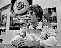 1982, ABN WTT, Anders Jarryd in persconferentie