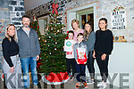 At the lighting of the Memory Tree for Kerry Hospice in the Coast Cafe Ballybunion on Sunday last L-r Eileen Kiely, Donal Cliona and Eathan Buckley, Mairead Fernane Kerry Hospice, with Donna and Molly Buckley.