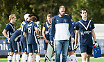 AMSTELVEEN - coach Jesse Mahieu (Pinoke) . Hoofdklasse competitie heren. Pinoke-SCHC (0-1) . COPYRIGHT  KOEN SUYK
