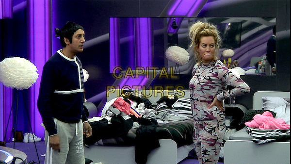 Celebrity Big Brother, Summer 2016, Day 15<br /> Chelsea and Charlie.<br /> *Editorial Use Only*<br /> CAP/KFS<br /> Image supplied by Capital Pictures