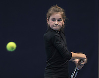 Hilversum, Netherlands, December 4, 2016, Winter Youth Circuit Masters, Rose Marie Nijkamp (NED)<br /> Photo: Tennisimages/Henk Koster