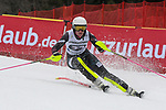 10.03.2018, Ofterschwanger Horn, Ofterschwang, GER, Slalom Weltcup in Ofterschwang, im Bild Nevena Ignjatovic (SRB, #32)<br /> <br /> Foto &copy; nordphoto / Hafner