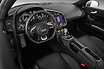 High angle dashboard view of a 2009 - 2012 Audi R8 V10 FSI Coupe.