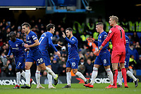 Eden Hazard celebrates scoring Chelsea's second goal during Chelsea vs Huddersfield Town, Premier League Football at Stamford Bridge on 2nd February 2019