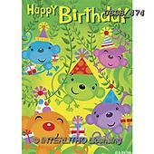 Sarah, CHILDREN BOOKS, BIRTHDAY, GEBURTSTAG, CUMPLEAÑOS, paintings+++++Monkey-12-A,USSB474,#BI#, EVERYDAY