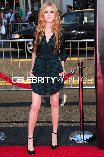 HOLLYWOOD, LOS ANGELES, CA, USA - SEPTEMBER 15: Katherine McNamara arrives at the Los Angeles Premiere Of Warner Bros. Pictures' 'This Is Where I Leave You' held at the TCL Chinese Theatre on September 15, 2014 in Hollywood, Los Angeles, California, United States. (Photo by Xavier Collin/Celebrity Monitor)