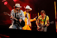 08 June 2019 - Nashville, Tennessee - Billy Ray Cyrus,Lil Nas X,Keith Urban. 2019 CMA Music Fest Nightly Concert held at Nissan Stadium. <br /> CAP/ADM/FRB<br /> ©FRB/ADM/Capital Pictures
