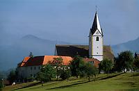 Slowenien. Kirche in Nova Cerkev