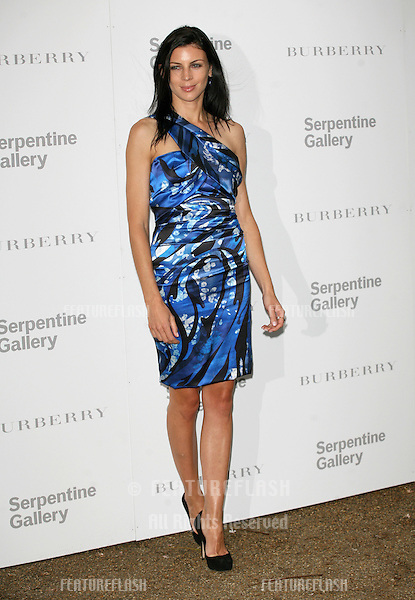 Liberty Ross attends the Burberry Serpentine Summer Party, at the Serpentine Gallery, London. 28/06/2011  Picture by: Alexandra Glen / Featureflash