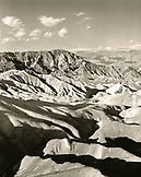 USA, California, Death Valley National Park, Zabriske Point (B&W)