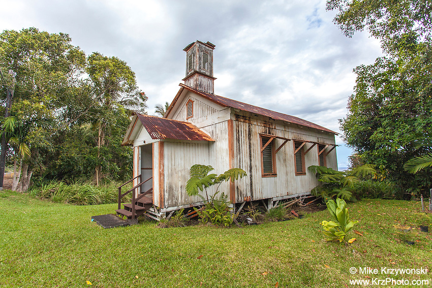 Historic Pohakupuka Congregational Church, Papaikou, Big Island, Hawaii