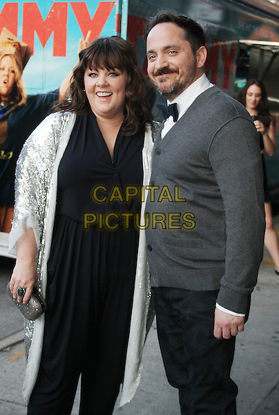 June 26, 2014: Melissa McCarthy and Ben Falcone at the New Line Cinema presents special screening of Tammy at the Landmark Sunshine Cinema in New York.<br /> CAP/MPI/RW<br /> &copy;RW/ MediaPunch/Capital Pictures