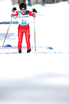 Keigo Iwamoto (JPN), <br /> MARCH 17, 2018 - Cross-Country Skiing : <br /> Men's Classical 10km Standing <br /> at Alpensia Biathlon Centre <br /> during the PyeongChang 2018 Paralympics Winter Games in Pyeongchang, South Korea. <br /> (Photo by Sho Tamura/AFLO SPORT)