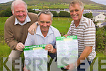 Putting the final preparations in place for Cahersiveen races are some of the members of Cahersiveen Race committee.L-R Treasurer, Wille O'Driscoll, Vice Chairperson, John O'Neill and Secretary, Liam Musgrave