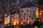 Nightfall in Rocamadour, Lot, Occitanie, France