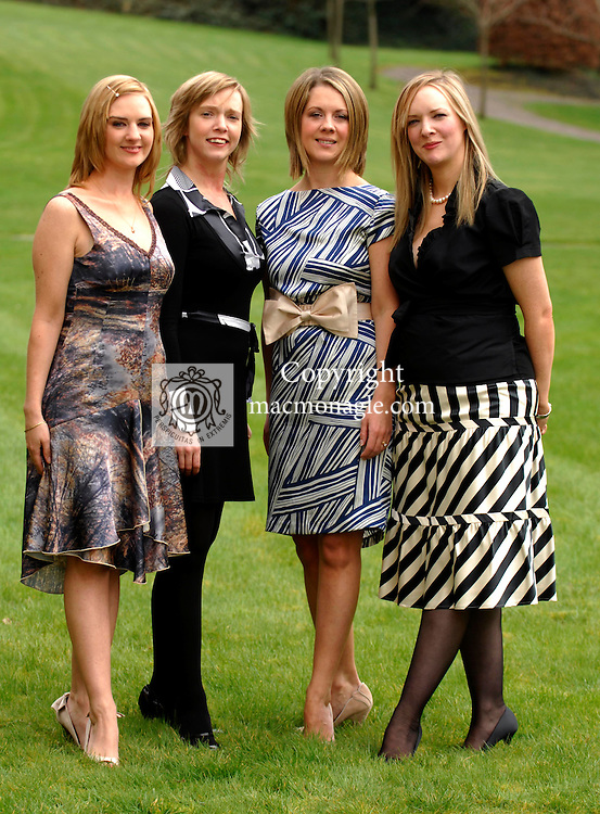 STYLE  SECRETS  AT KILLARNEY PARK<br />Pictured at the day of fashion and fun, style and secrets at The Killarney Park Hotel on Saturday were from left,  sisters Patrice, Maureen, Niamh and Elaine O'Shea.<br />Picture: Eamonn Keogh (MacMonagle, Killarney)