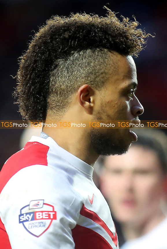 Charlton's Jordan Cousins scored their only goal  - Charlton Athletic vs Rotherham United - Sky Bet Championship Football at the Valley, London - 31/01/15 - MANDATORY CREDIT: Paul Dennis/TGSPHOTO - Self billing applies where appropriate - contact@tgsphoto.co.uk - NO UNPAID USE