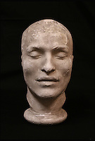 BNPS.co.uk (01202 558833)<br /> Pic: ThomsonRoddick/BNPS<br /> <br /> 19th century plaster death mask head, of Francois Benjamin Courvoisier, murderer of Lord William Russell.<br /> <br /> These disturbing Victorian plaster cast heads of notorious criminals are a far cry from today's bland mugshots of lowlifes.<br /> <br /> Two of the heads have been identified as Benjamin Courvoisier, a serial killer in the mould of Jack the Ripper, and coachman Daniel Good who mutilated his pregnant mistress. <br /> <br /> In total, nine heads were discovered at an outbuilding at a rural home just outside Penrith, Cumbria, which have now fetched almost &pound;40,000 at auction. <br /> <br /> Experts predicted the collection of heads would sell for &pound;2,000  but Courvoisier's head alone went for &pound;20,000.<br /> <br /> Two of the heads were made by the famous British exponent of phrenology, James De Ville, who built a private museum of more than 5,000 specimens.