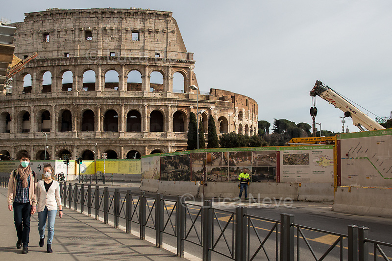 Colosseum: Closed.<br />