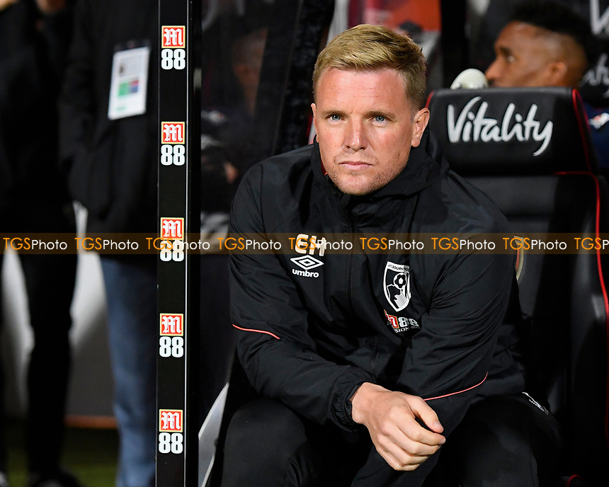 AFC Bournemouth Manager Eddie Howe during AFC Bournemouth vs Crystal Palace, Premier League Football at the Vitality Stadium on 1st October 2018