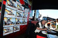 26-28 October, 2012, Las Vegas, Nevada USA, Kenny Youngblood, Toyota, pit pass @2012, Mark J. Rebilas